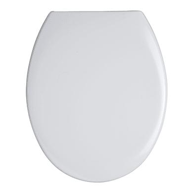 Copriwater ovale Universale Adige termoindurente bianco