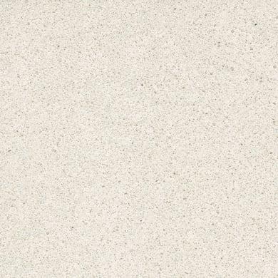 Piano cucina su misura in quarzo composito Virgo bianco , spessore 1 cm