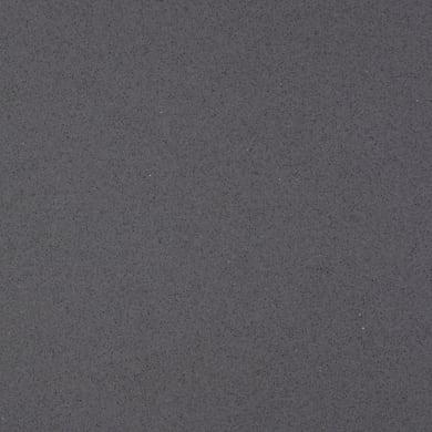 Piano cucina su misura in quarzo composito Urano grigio , spessore 3 cm