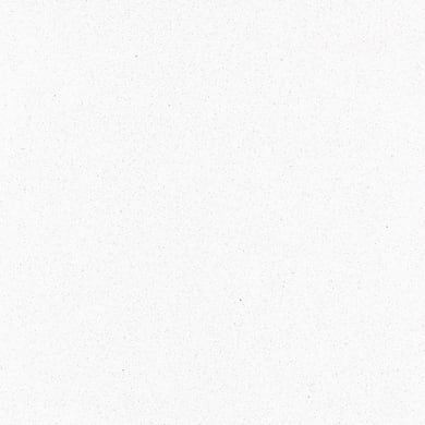 Piano cucina su misura in quarzo Candido bianco , spessore 2 cm