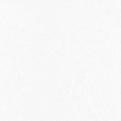 Piano cucina su misura in quarzo composito Candido bianco , spessore 2 cm