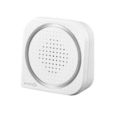 Campanello senza filo LEXMAN 309W wireless bianco