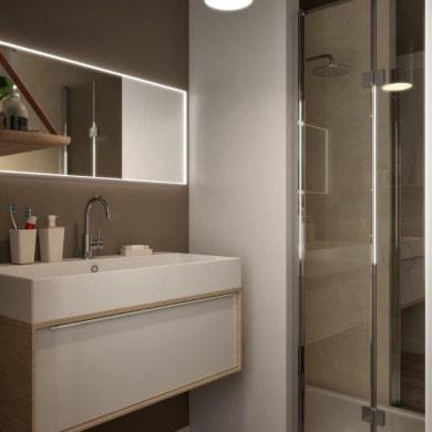 Mobile bagno Neo3 bianco L 90 cm