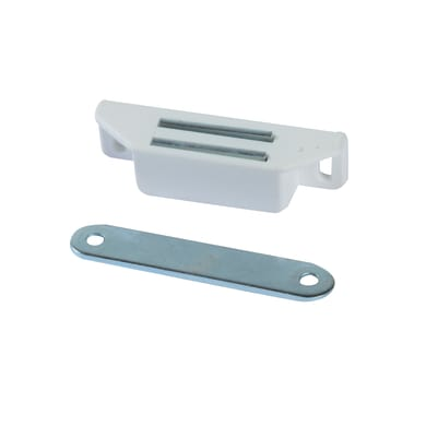 Chiusura magnetica in plastica 18 x 65 mm Ø 40 mm