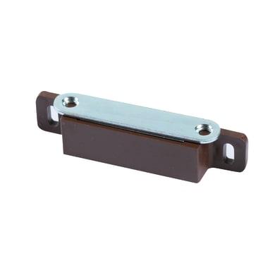 Chiusura magnetica in plastica 18 x 87 mm Ø 40 mm