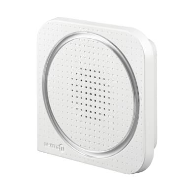 Campanello senza filo LEXMAN 308W wireless bianco