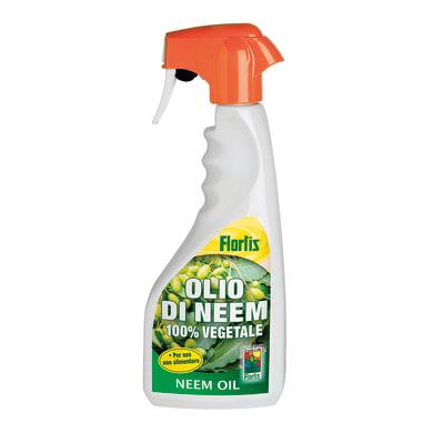 Insetticida fungicida FLORTIS olio di neem RTU 500 ml