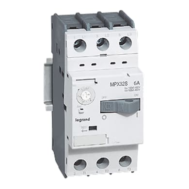Salvamotore LEGRAND 417304 - 3P 0.63-1A/0.18-0.25KW 380V
