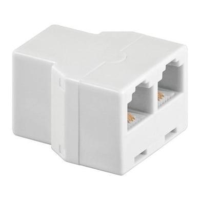 Adattatore RJ11 Adattatore telefonico bianco