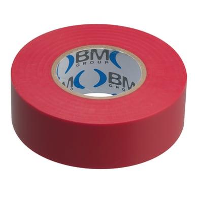 Nastro isolante BM 19 x 25000 mm x sp 0,15 mm rosso