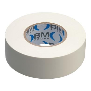 Nastro isolante BM 19 x 25000 mm x sp 0,15 mm bianco