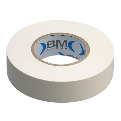 Nastro isolante BM 15 x 10000 mm x sp 0,15 mm bianco
