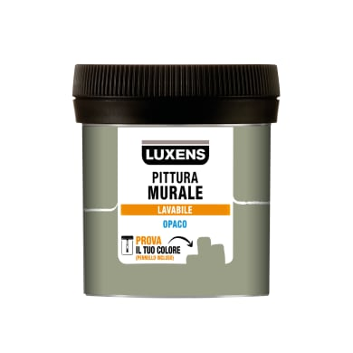 Pittura murale LUXENS 0,075 L verde forest 3