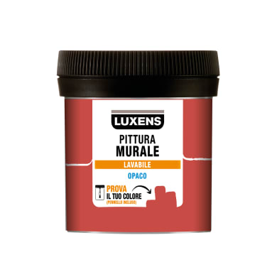 Pittura murale LUXENS 0,075 L rosso cocktail 2