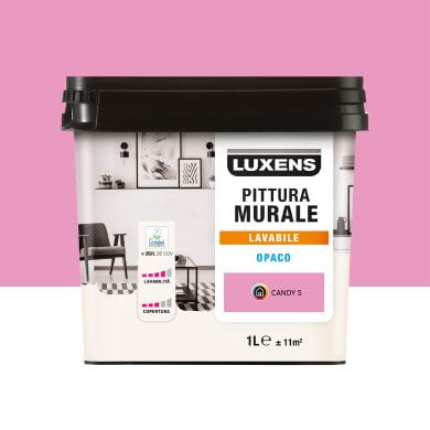Pittura murale LUXENS 1 L rosa candy 5