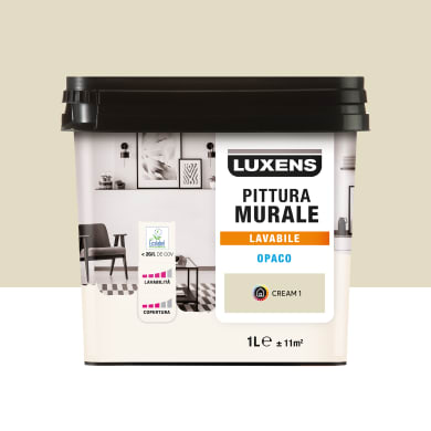 Pittura murale LUXENS 1 L beige cream 1