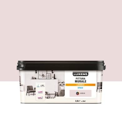 Pittura murale LUXENS 2.5 L rosa kiss 6