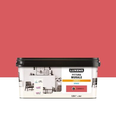 Pittura murale LUXENS 2.5 L rosa carmen 5