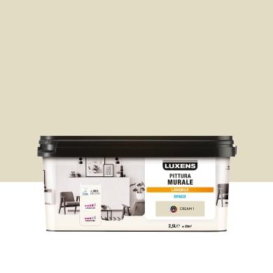 Pittura murale LUXENS 2.5 L beige cream 1