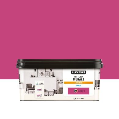 Pittura murale LUXENS 2.5 L rosa candy 3