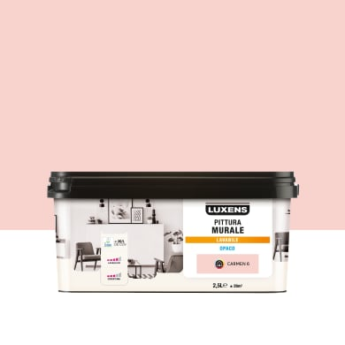 Pittura murale LUXENS 2.5 L rosa carmen 6