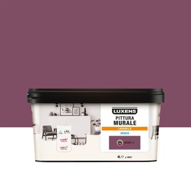 Pittura murale LUXENS 4 L viola berry 3