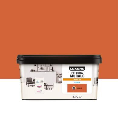 Pittura murale LUXENS 4 L arancio soda 2