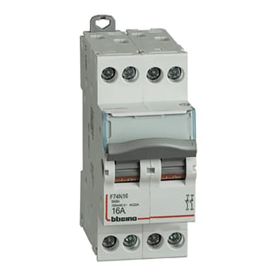 Sezionatore BTICINO SF74N32 4 poli 32A 6kA 2 moduli 400V
