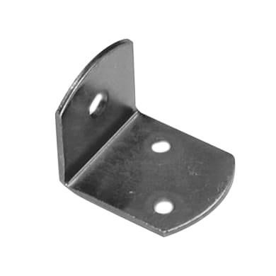 Piastra angolare STANDERS in inox zincato L 37 x Sp 2 x H 30 mm