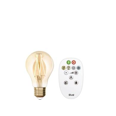 Lampadina LED, E27, Goccia, Ambra, Luce calda, 9W=806LM (equiv 60 W), 330° , JEDI