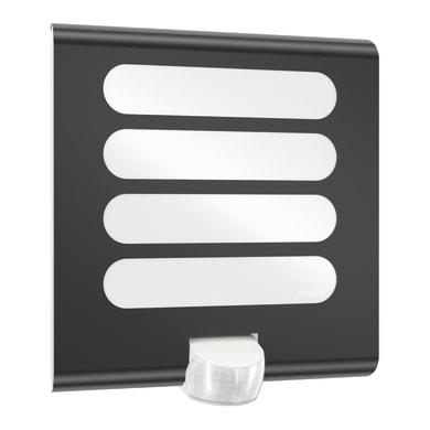 Applique Sensor LED integrato in plastica, antracite, 7.5W 410LM IP44 STEINEL