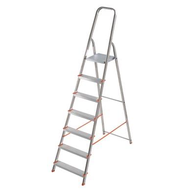 Scala in alluminio 7 gradini