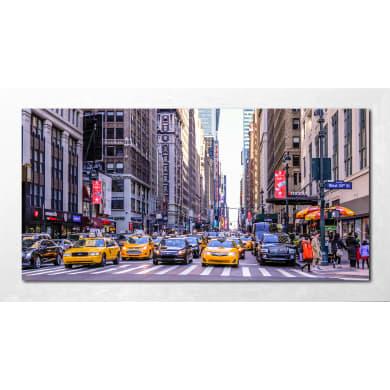 Quadro con cornice Taxi 136x76 cm