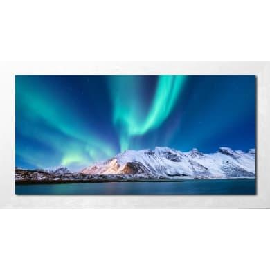 Quadro con cornice Aurora 136x76 cm
