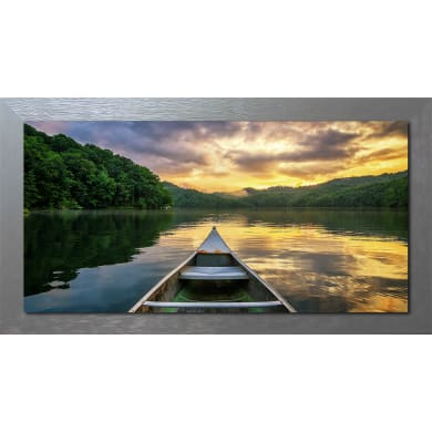 Quadro con cornice Riverboat 136x76 cm