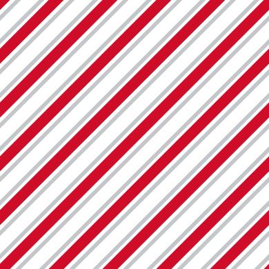 Tessuto al taglio Sidelong grigio/rosso 280 cm