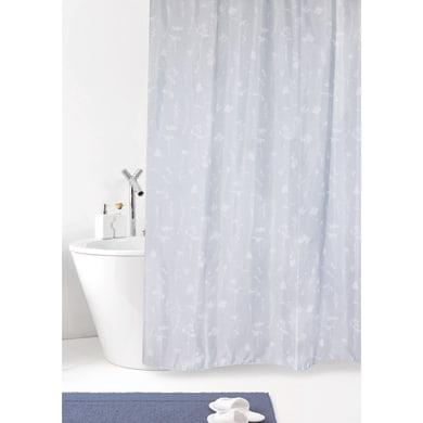 Tenda doccia Bocciolo in poliestere grigio L 180 x H 200 cm