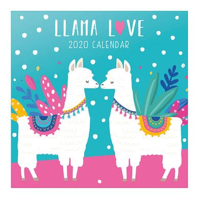 Poster Llamas 30x30 cm