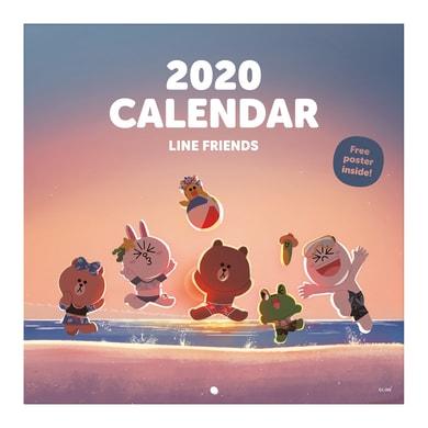 Poster Friends 30x30 cm