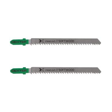 Lama per seghetto alternativo DEXTER in hcs L 100.0 mm 2 pezzi
