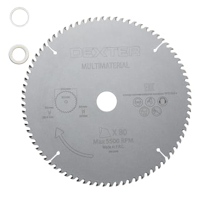 Lama DEXTER Ø 250 mm 80 denti