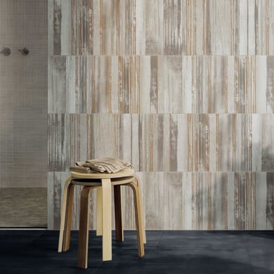 Mosaico Sonik H 30 x L 30 cm grigio