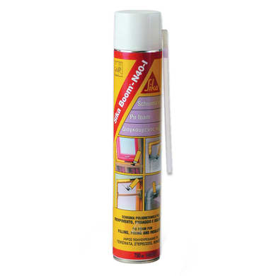 Schiuma poliuretanica SIKA SikaBoom N40 giallo 750 ml