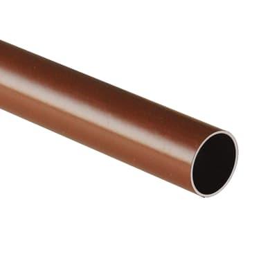 Tubo appendiabiti L 200 x marrone