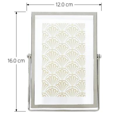 Cornice INSPIRE Parme argento per foto da 10X15 cm