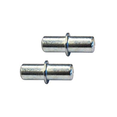 Supporto per ripiano L 5 x H 6 x P 5 cm grigio / argento