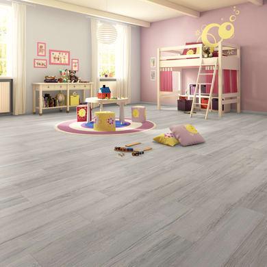 Pavimento laminato Oak Sp 12 mm grigio / argento