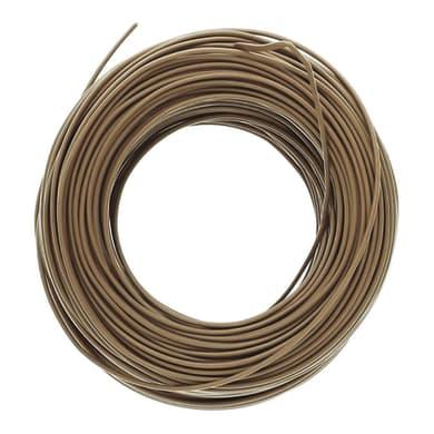 Cavo elettrico marrone 3 fili x 1,5 mm² 5 m LEXMAN Matassa