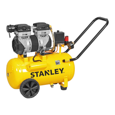 Compressore silenziato STANLEY SILTEK 24 1.3 hp 8 bar 24 L