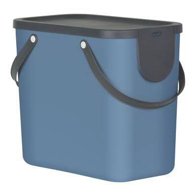 Pattumiera per raccolta differenziata manuale blu 25 L